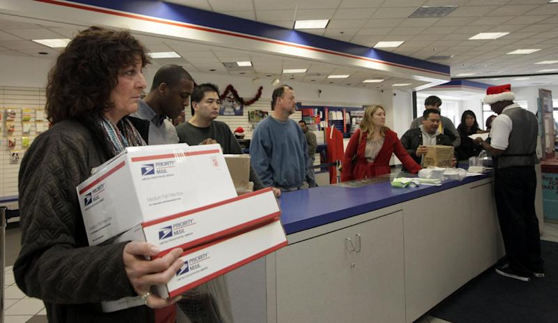 cash strapped post office tests same day delivery - Christmas Eve Post Office Hours