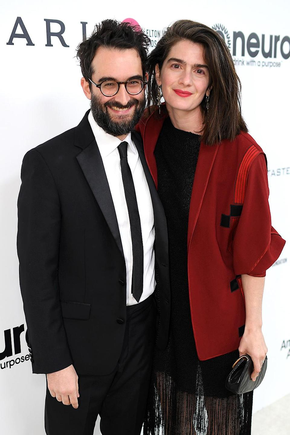 <p>Jay Duplass and Gaby Hoffman attend the 25th Annual Elton John AIDS Foundation's Academy Awards Viewing Party at The City of West Hollywood Park on February 26, 2017 in West Hollywood, California. (Photo by Dimitrios Kambouris/Getty Images for EJAF) </p>