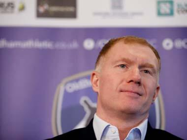 Former Manchester United player Paul Scholes charged by England Football Association for alleged breach of betting rules