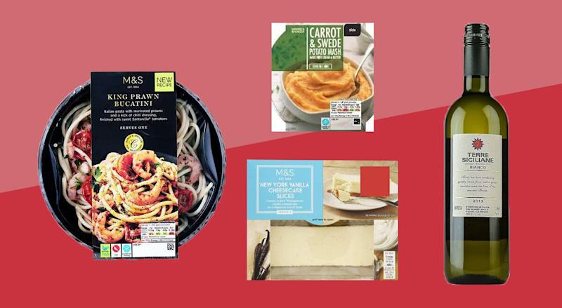 Marks & Spencer Valentine's Day Meal (Photo: HuffPost UK)