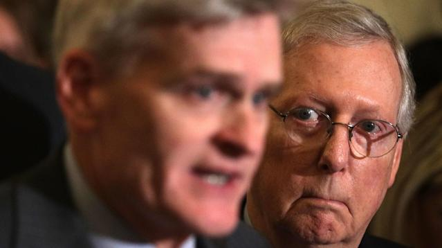 Key Republican senators were busy on Sunday, expressing their reservations about the latest effort to repeal the Affordable Care Act, which Senate GOP leaders are vowing to bring to a vote this week.