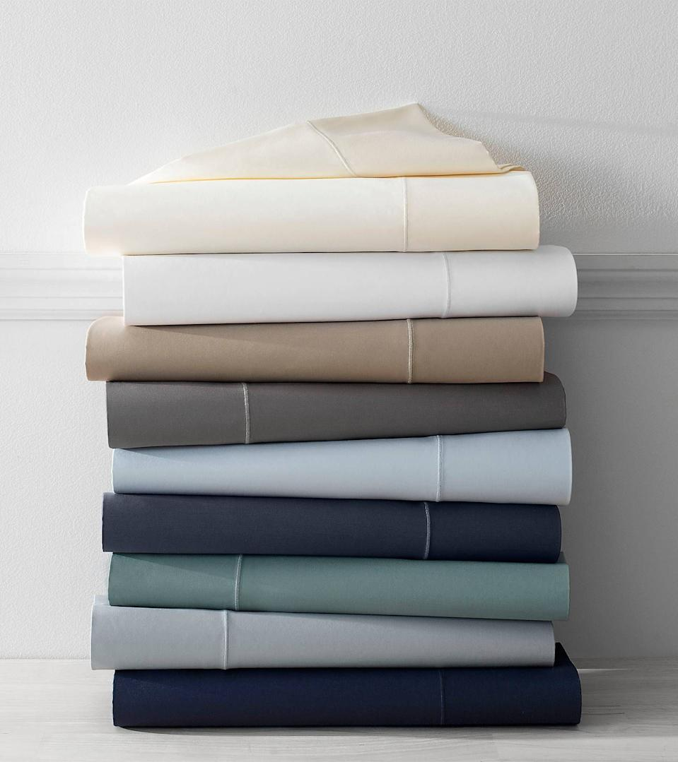 """<h3><a href=""""https://www.bedbathandbeyond.com/store/product/wamsutta-reg-500-thread-count-pimacott-reg-sheet-set/234926"""" rel=""""nofollow noopener"""" target=""""_blank"""" data-ylk=""""slk:Wamsutta 500-Thread-Count PimaCott Sheet Set"""" class=""""link rapid-noclick-resp"""">Wamsutta 500-Thread-Count PimaCott Sheet Set</a> ( <strong>Year-Round Bestseller)</strong></h3><p>Satisfied customers describe this year-round essential set of sheets, crafted from lightweight yet durable PimaCott blend, as the trifecta of luxurious, beautiful, and comfortable.</p><br><br><strong>Wamsutta</strong> 500-Thread-Count PimaCott Sheet Set, $59.99, available at <a href=""""https://www.bedbathandbeyond.com/store/product/wamsutta-reg-500-thread-count-pimacott-reg-sheet-set/234926"""" rel=""""nofollow noopener"""" target=""""_blank"""" data-ylk=""""slk:Bed Bath & Beyond"""" class=""""link rapid-noclick-resp"""">Bed Bath & Beyond</a>"""
