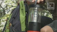 Flashlight is powered by water