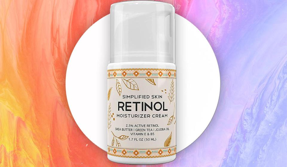 Over 1,200 reviewers can't stop raving about this cream. (Photo: Amazon)