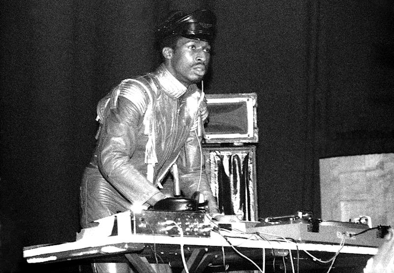 Grandmaster Flash (Photo by David Corio/Michael Ochs Archives/Getty Images)