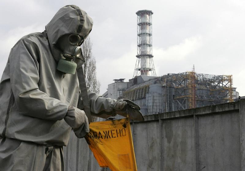 The Chernobyl disaster of 1986 caused widespread radioactive contamination and acid rain across northern Europe (AFP Photo/SERGEI SUPINSKY)