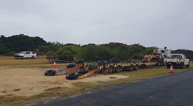 It is hoped the sperm whale can be moved tomorrow and then relocated. Source: Hopetoun Progress Association