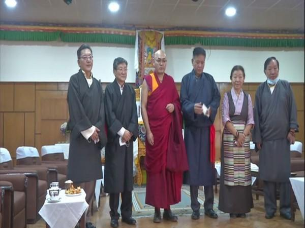The 44 elected members of the 17th Tibetan Parliament-in-Exile take oath on Friday.