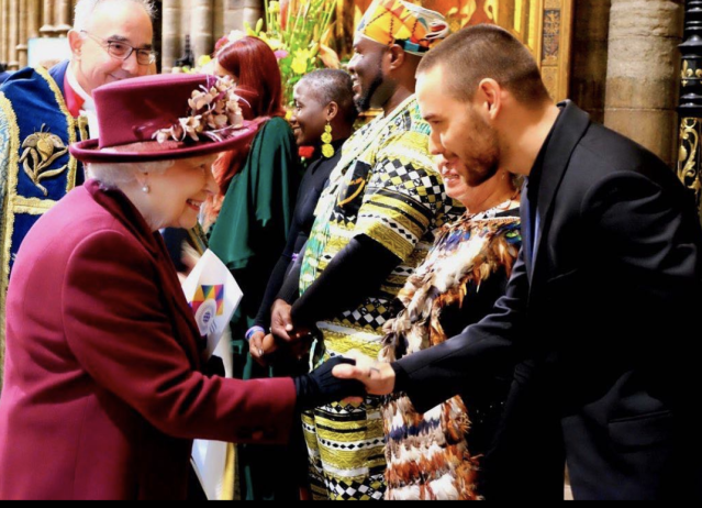 "<p>The former One Direction member had the honor of performing for the likes of the Queen of England, Prince Harry, and Meghan Markle, just to name a few, when he sang John Mayer's ""Waiting on the World to Change"" at Westminister Abbey on Monday. ""Today was an absolute pleasure to be a part of #CommonwealthDay,"" the singer wrote alongside a photo of his meet-up with the Queen herself. (Photo: <a href=""https://www.instagram.com/p/BgPcVXvhspt/?taken-by=liampayne"" rel=""nofollow noopener"" target=""_blank"" data-ylk=""slk:Liam Payne via Instagram"" class=""link rapid-noclick-resp"">Liam Payne via Instagram</a>) </p>"