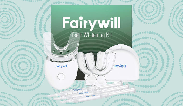 Two reasons to smile: the fast, safe results you'll get from this Fairywill kit, and the stupid-low price you'll pay for it. (Photo: Amazon)