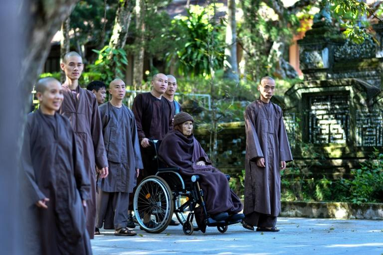 Buddhist monk Thich Nhat Hanh is credited with bringing 'mindfulness' to a Western audience