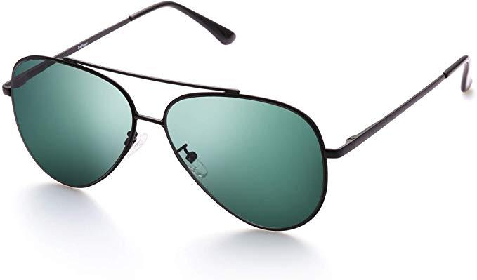 LotFancy Aviator Sunglasses for Men (Photo: Amazon)