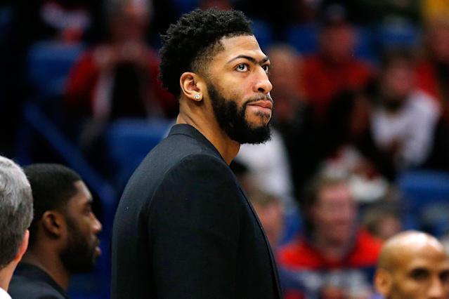 If Anthony Davis ends up playing elsewhere the next few years, it would be bad news for the Lakers.