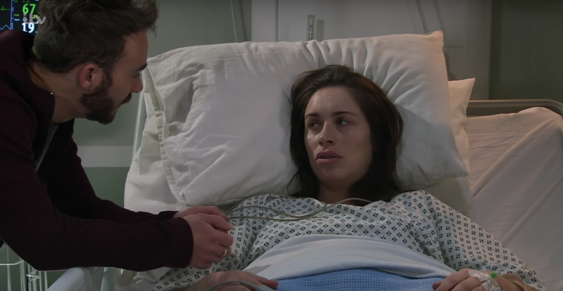 Shona doesn't remember husband David Platt as she wakes up from her coma in Coronation Street.