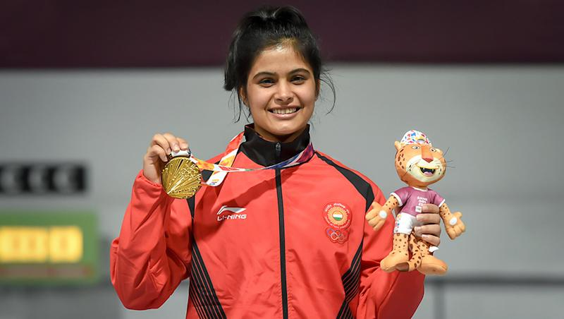 Manu Bhaker Clinches Gold in Women's 10m Air Pistol Event of 2019 Asian Shooting Championships