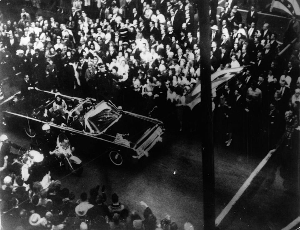 <p>President John F Kennedy died on 22 November 1963</p> (Getty Images)
