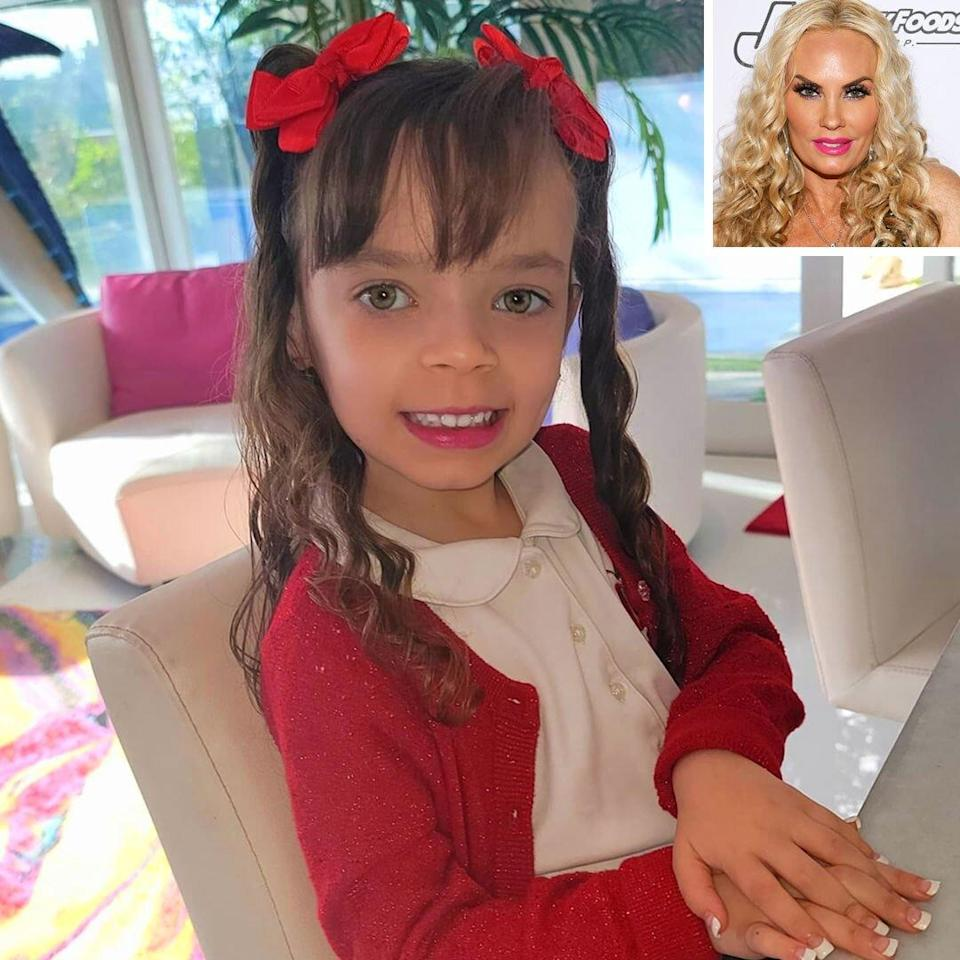 coco Austin and daughter