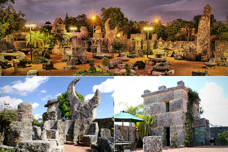Coral Castle, Florida, United States - The famous Coral Castle in Florida owes its existence to Agnes Scuff and her momentary impulsive decision. The story goes back to the early 1900. Agnes Scuff was to marry Edward Leedskalnin the next day, but suffered a sudden change of heart. The bride-to-be hence became the runaway bride. The moonstruck groom, Ed was shaken with disheartenment and embarrassment, left his native Latvia and marched for Florida, wandering around in the dark with no one around but a lantern. 28 years hence, in 1951, he surprised the world with this magnificent castle. The man, a puny creature who stood just 5 feet above the ground and weighed a mere 100 pounds leaves the world awestruck. How he erected this castle is still a mystery unsolved though some opine he applied magnetism. Bet, that damsel remains to stay a loser for running away from this genius who built her a monument of love. (Image - au.pfinance.yahoo.com)