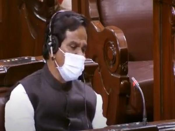Union Minister of State for Consumer Affairs Danve Raosaheb Dadarao speaking in the Rajya Sabha on Tuesday