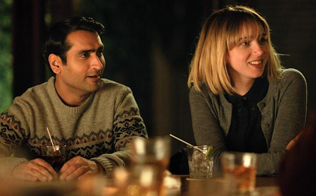 "<p><i>Silicon Valley</i>'s Kumail Nanjiani mines his own courtship of wife Emily V. Gordon for this crowd-pleasing romantic comedy, about a stand-up comedian whose up-and-down relationship with a new girlfriend is complicated by both his Pakistani parents' disapproval, and by her sudden illness — thus leading to a friendship between the jokester and the woman's parents, played by a hilarious Holly Hunter and Ray Romano. <em>— N.S.</em><br><br><i>Available to stream: <a href=""https://www.youtube.com/watch?v=PJmpSMRQhhs"" rel=""nofollow noopener"" target=""_blank"" data-ylk=""slk:Amazon Prime"" class=""link rapid-noclick-resp"">Amazon Prime</a> (and other services to rent)</i><br><br>(Photo: Lionsgate /Courtesy Everett Collection) </p>"