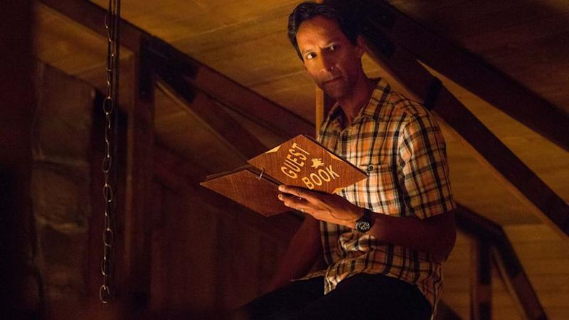 "Danny Pudi in ""The Guest Book."" (Photo: TBS)"