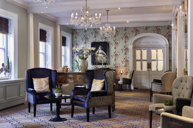 One of the lounge areas at Francis Hotel Bath [Photo: Supplied]