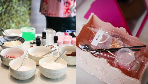 Organic Makeup Class for Kids by Makeup Artist in Singapore Shradha ProStylist