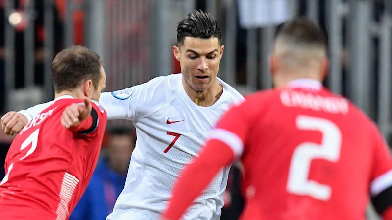 Ronaldo hits out at Luxembourg's 'potato field' as Portugal reach Euro 2020