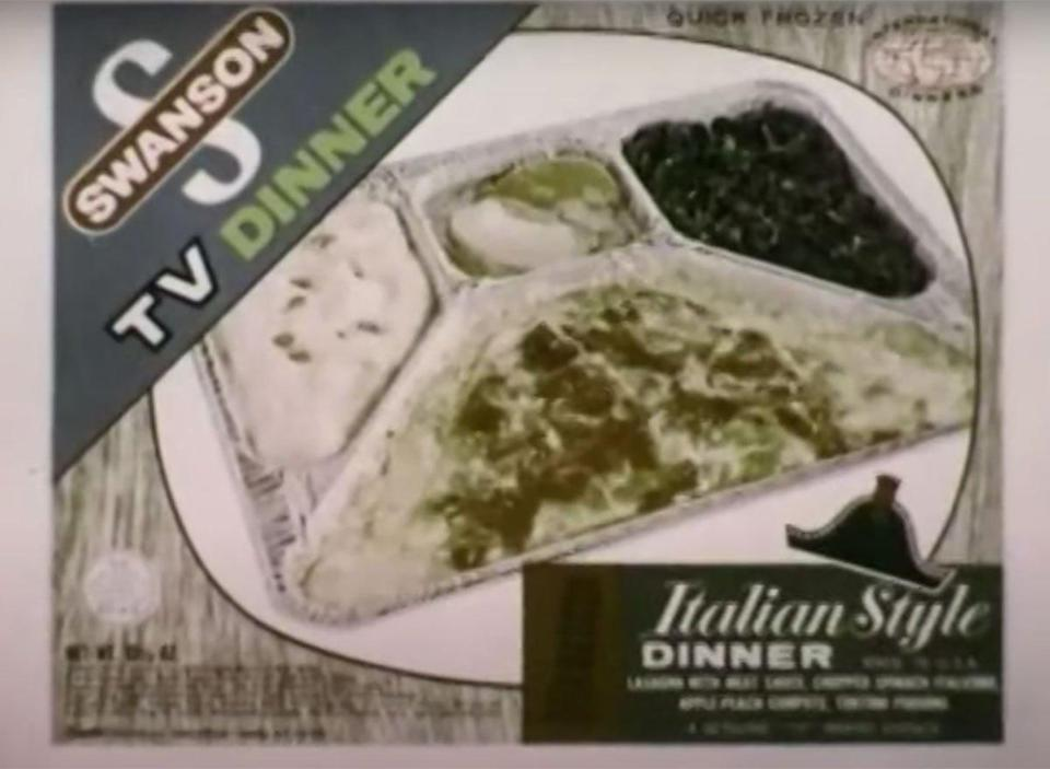 swanson italian style tv dinner