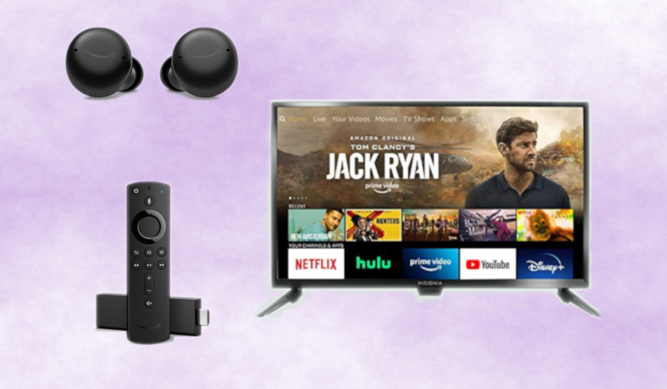 From tablets to TVs, this tucked-away Amazon section is poppin' with Echo Buds, Fire TV and Firestick secret sales! (Photo: Amazon)