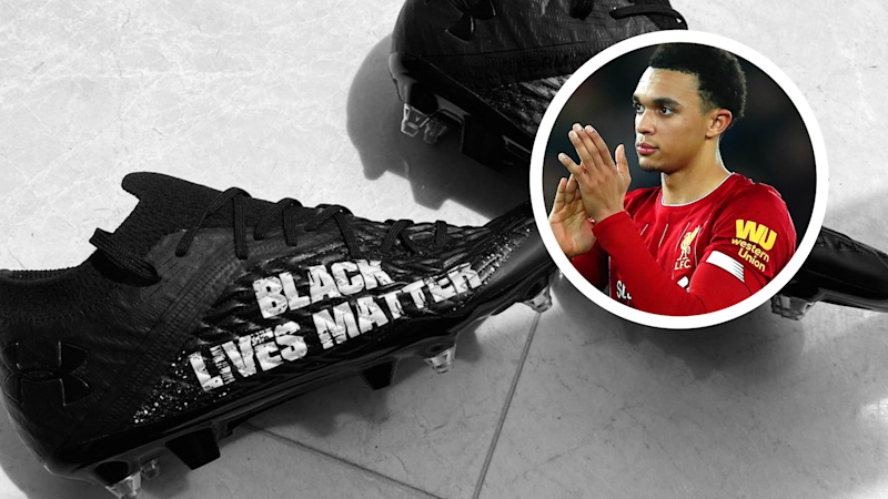 'The system is broken' - Alexander-Arnold speaks out against racism with Black Lives Matter boots for Merseyside derby