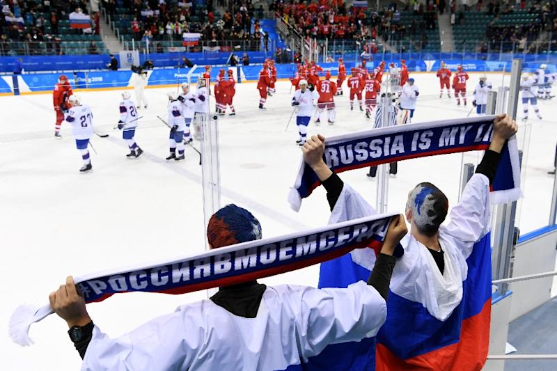 Russia Banned From Flying Flag At Olympic Closing Ceremony