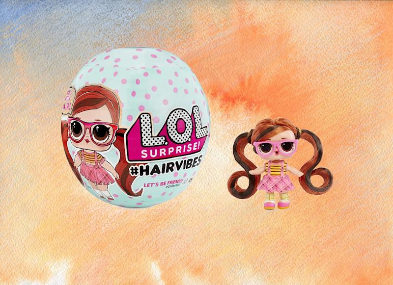 L.O.L. Surprise! #Hairvibes Dolls. (Photo: Amazon)