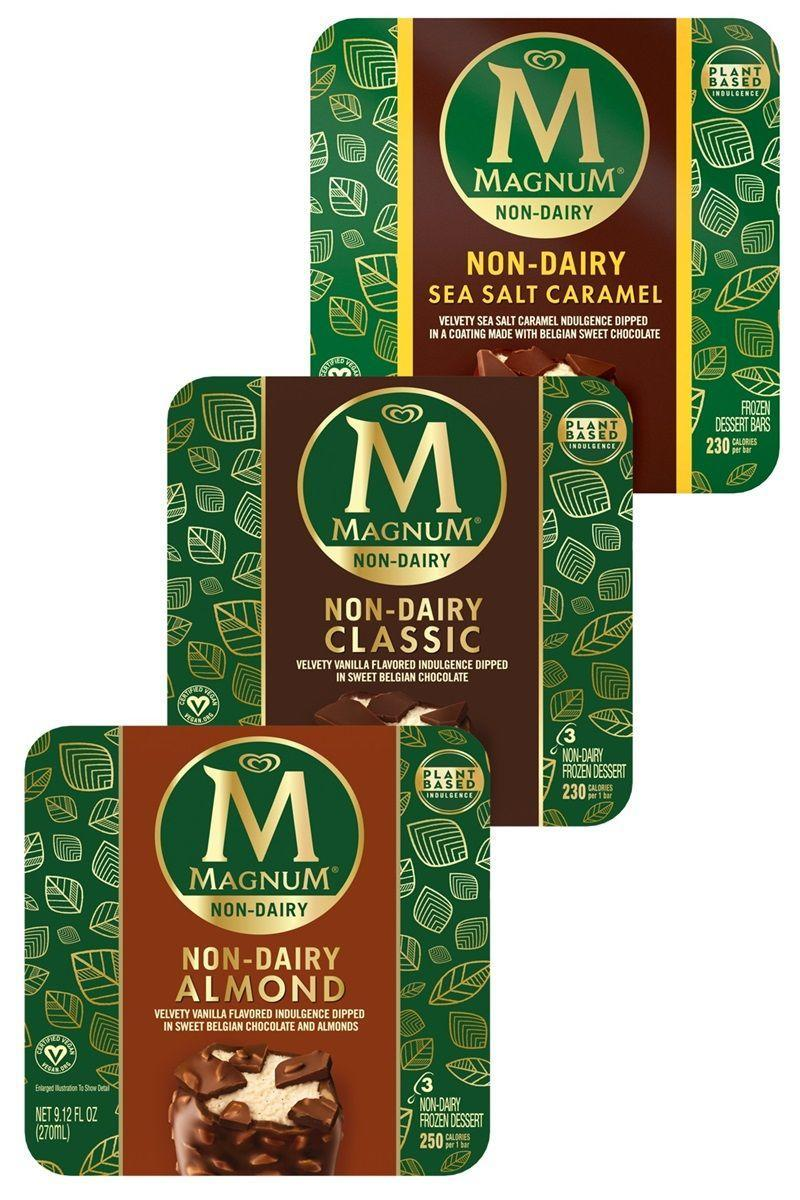 """<p>If you can't resist anything chocolate-covered, get excited, cause the minds at Magnum have got something just for you. They make dairy-free bars in a few different flavors using a unique combo of pea protein and coconut oil. Somehow they manage to taste <em>exactly </em>like their dairy-filled counterparts.</p><p><em>Our pick: Non-Dairy Sea Salt Caramel</em></p><p><a class=""""link rapid-noclick-resp"""" href=""""https://www.magnumicecream.com/us/en/flavors/icecream-bars/non-dairy-classic-bar.html"""" rel=""""nofollow noopener"""" target=""""_blank"""" data-ylk=""""slk:BUY NOW"""">BUY NOW</a></p>"""