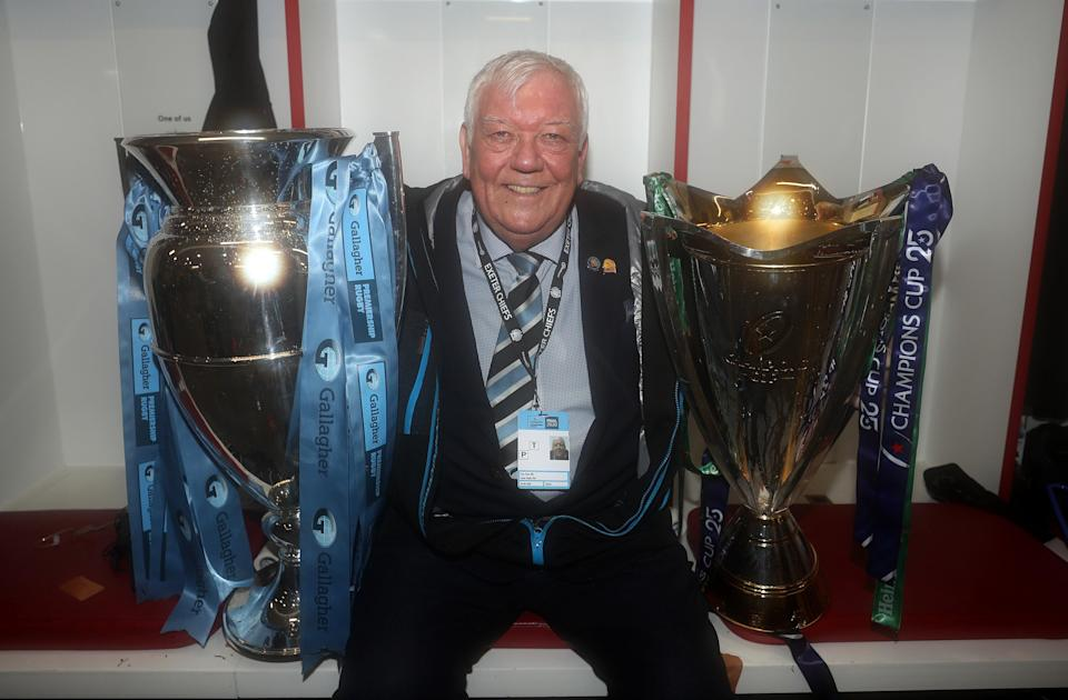 Exeter Chiefs owner Tony Rowe wants his side to take on the world after winning the Premiership and European double (Getty)