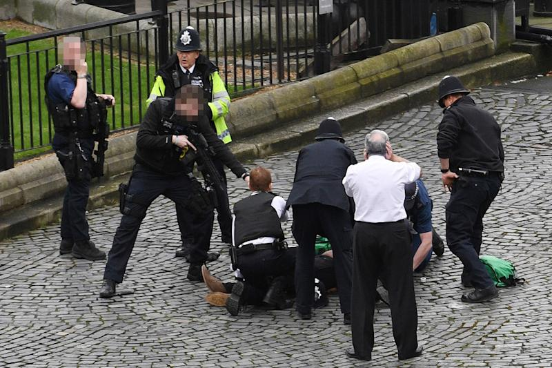 Security fears: Parliament told to step up security following terror: Stefan Rousseau/PA