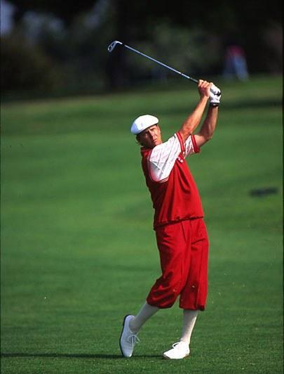 Stewart had won the PGA and U.S. Open when he left Wilson to sign a $7 million dollar deal with Spalding in 1994. Forced to use game-improvement perimeter weighted irons for the first time -- as well as as the two-piece Top Flite ball -- Stewart lost much of his distance control and ability to shape shots. He went from sixth on the money list in 1993 to 123rd in 1994. In 1995, Spalding allowed him to switch to a forged blade, and played better. But when he won the 1999 U.S. Open, Stewart didn't have a club contract and was playing a mixed bag that included Mizuno MP-14 irons.