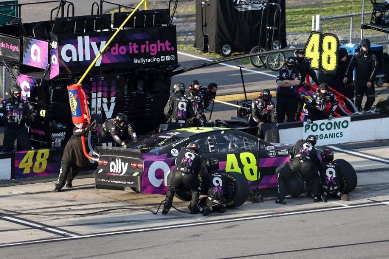 NASCAR driver Johnson cleared to race after negative COVID-19 tests