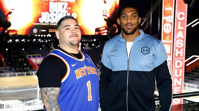 """After realising the """"sweet science"""" of boxing, Anthony Joshua says he is both lighter and more powerful before facing Andy Ruiz Jr."""
