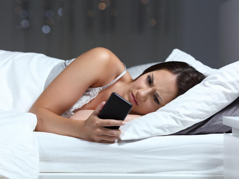 Almost half of young people suffering from 'technoference' as mobile phones affect sleep and productivity
