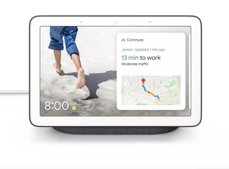 <p>Have your own personal assistant with the <span>Google Nest Hub</span> ($90). Enjoy entertainment, keeping in touch with friends and family, controlling your household, staying on top of your schedule and errands, and so much more with this one device.</p>