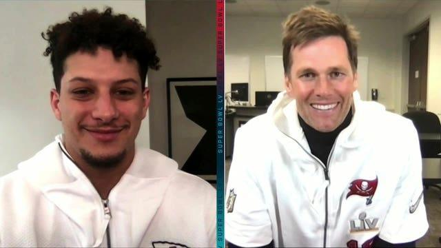 Patrick Mahomes goes up against Tom Brady in Super Bowl LV