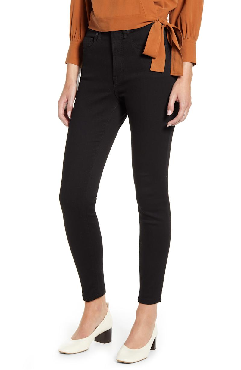 Everlane The Authentic Stretch High Rise Skinny Jeans