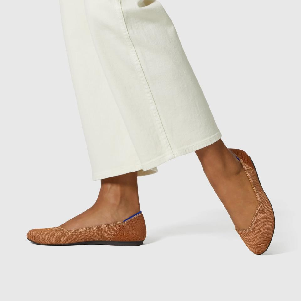 <p>These <span>Rothy's Flats</span> ($125) come in so many colors and patterns.</p>