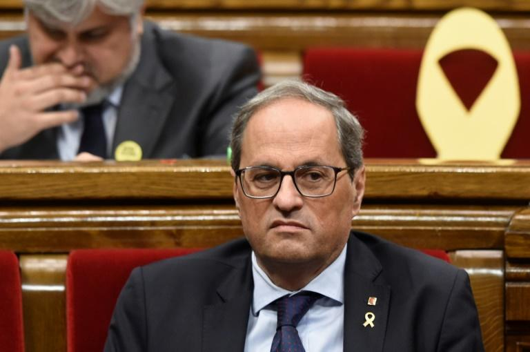Catalan president Quim Torra has pledged to work for a new independence referendum before his term ends in early 2022