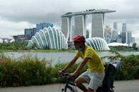Singapore's economy shrank 40 percent in the second quarter with the results likely to ring alarm bells for other trade dependent countries