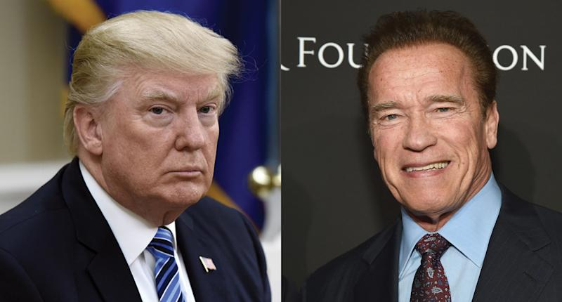 Donald Trump Announces That Arnold Schwarzenegger Is Dead, Rival Actor Hits Back