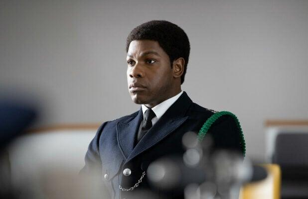 'Small Axe: Red, White and Blue' Review: John Boyega's London Cop Tries to Change the System