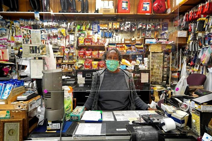 Orgire McCoy, owner of Beatties Ford Hardware in west Charlotte, supports the new mandate requiring everyone to wear masks in public that goes in effect June 26. Local elected officials back in May said not enough people were wearing cloth face coverings as North Carolina businesses slowly reopened.
