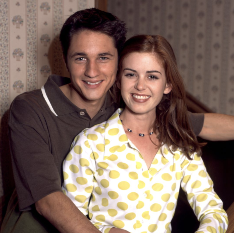 Isla Fisher played Shannon Reed from '94 to '97. Photo: Channel 7.